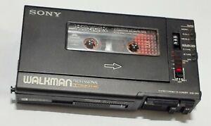 Sony WM D 6 C VTG Walkman cassette player w/ case plays fast MINT