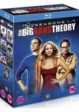 Big Bang Theory - Series 1-7 - Complete (Blu-ray, 2014, 21-Disc Set, NEW & SEALE
