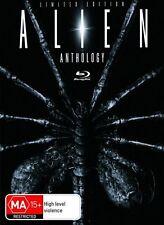 Alien Anthology (Blu-ray, 2010, 6 Disc Set) Boxset