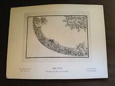 1886 Antique Original Imprimé 1886 No27 Francois de Cuvillies - Georg Hirth