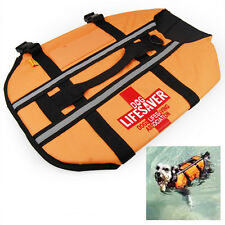 Large Dog Life Jacket Vest Bouyancy Aid for Boating Sailing Swimming Swim Water