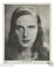 LENI RIEFENSTAHL Signed Photograph - Nazi Film Maker / Photographer - Preprint