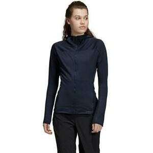 Adidas Terrex Trace Rocker Womens Hoody Running Jacket Ladies Hiking Top Black
