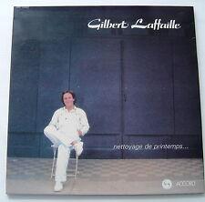 GILBERT LAFFAILLE . NETTOYAGE DE PRINTEMPS .  LP