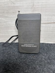 Vintage Realistic Crystal Controlled Alert Weather Radio model 12-143A WORKS!!