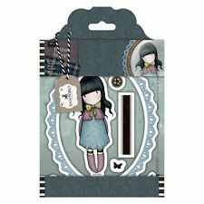 WAITING-Docrafts Santoro Gorjuss Rubber Stamp-Stamping Craft-Tweed Girls