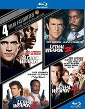 4 Film Favorites Lethal Weapon 0883929343188 With Mel Gibson Blu-ray Region a