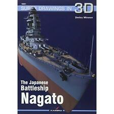 The Japanese Battleship Nagato - Paperback NEW Mironov, Dmitry 05/04/2017