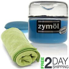 Zymol Carbon Wax with Zymol Wax Applicator 8 oz with Microfiber Cloth