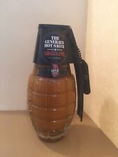 The General'S Hand Grenade Shock & Awe Hot Sauce 6oz From Scorched Lizard