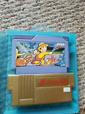 1989 Honey Bee Family Convertor Nintendo NES Famicon Plus Game and Case
