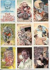 Island of Dr. Moreau Card Set  Monsterwax 2005  Plus Checklist and Wrapper