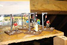 Farm diorama 1:32 man shearing will suit Britain's / Brushwood and Siku