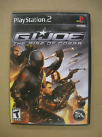 G.I. JOE: The Rise Of Cobra - Playstation 2 PS2 Game - Tested
