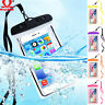 360 Sealed Underwater Waterproof Cell Smart Phone Dry Pouch Cover Bag Case Clear