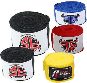 5/10/15 pairs Hand Wrap MMA Wrist Bangdage Kickboxing Boxing Tape 4.5Meters each