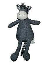 "Pier 1 Imports Tilly Zebra Plush Stuffed Animal Lovey 21"""