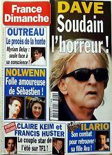 Mag 2004: DAVE_CLAIRE KEIM_FRANCIS HUSTER (Zodiaque)_CLAUDE FRANCOIS_LIO_OUTREAU