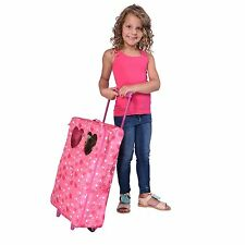 """Doll Double Travel Trolley with double sleeping bag Fits 18"""" Dolls"""