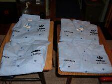 New u.s. navy dungaree Xxxl l.s. shirt w patches by quarterdeck