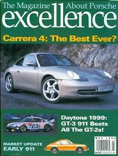 1999 Excellence Magazine (About Porsche): Carrera 4/Daytona GT3 911/Early 911