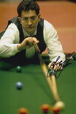 Joe Johnson mano firmado 12X8 Snooker Foto prueba 7.