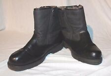 Haband's Thermal King Men's Double-Zip Boots Black Size 8.5D 84890