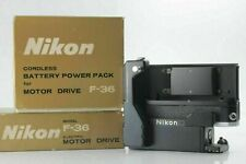 【MINT /Overhauled】 Nikon F-36 Motor Drive w/ Battery Pack For F From JAPAN #472