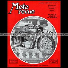 MOTO REVUE N°1070 FN FABRIQUE NATIONALE 500 BMW R25 JAWA 350 TERROT 125 ETD 1952