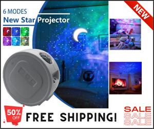 Star Light LED Galaxy Projector Starry Night Light Laser  Sky Ocean Projection