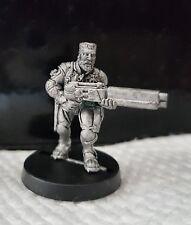 Warhammer40k Necromunda Van Saar Ganger with Combat shotgun metal oop unpainted