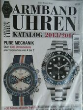 Armband-Uhren Katalog 2013/2014 / Neu OVP/ Rolex Breitling und alle Topmarken