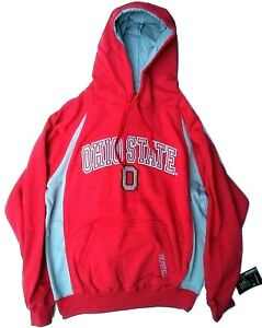 Men's Ohio State Buckeyes Sweatshirt Pullover Basketball Hoodie Size: Large
