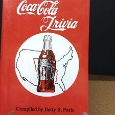 COCA COLA TRIVIA -  FIRST EDITION BY BETTY B. PARIS