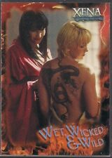 XENA SEASON 6 WET WICKED & WILD LUCY LAWLESS & RENEE O'CONNOR CHASE CARD #WWW7