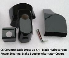 C6  CHEVROLET CORVETTE CARBON FIBER 3 PC ENGINE BAY DRESS UP KIT