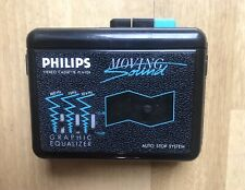 Vintage Philips D-6616 Moving Sound Cassette Player Walkman Rare Green Working