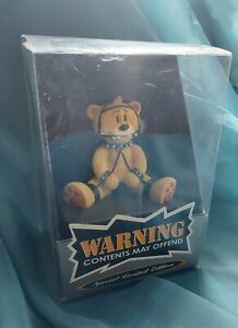 "Bad Taste Bears - ""BDSM"" Bear #399 out 500 In original box - special Ltd edition"