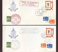 GIBRALTAR + MOROCCO FLEETEX 1979 POSTAGE DUES + OPTS 2 ENVELOPES DOUBLE DATED