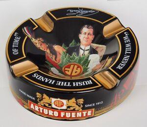 Großer Arturo Fuente Story Zigarrenaschenbecher schwarz