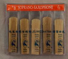 New Flying Goose Soprano Saxophone 10/pc Per Box Reeds Strength #2.5 Hi Quality