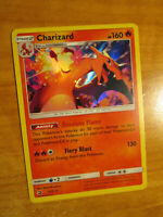 NM Pokemon CHARIZARD (HOLO) Card DRAGON MAJESTY Set 3/70 SM Sun and Moon Rare