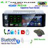 4.1in Single 1DIN Touch Screen Car MP5 MP3 Player RDS AM FM Radio BT USB AUX TF