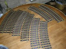AML American Line by Accucraft G Scale Wide Radius Curved Track 8 Pieces