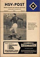 Oberliga Nord 62/63 Hamburger SV - Holstein Kiel, 24.11.1962, Alfred Bornemann