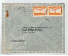 BS39 Argentina Buenos Aires Royal Empire Society BSAA Cover PTS