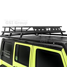 Cargo Roof Rack System Basket Only for 07-18 Jeep Wrangler JK 4 Door
