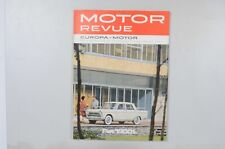 Motor Revue Europa Motor Ausgabe 48 Winterausgabe 1963