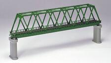 Tomix 3033 Truss Bridge Set w/ 2 Concrete Piers (Dark Green) (N scale)