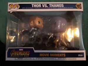 Funko Pop Movie Moments Marvel Avengers: Infinity War Thor Vs Thanos #707